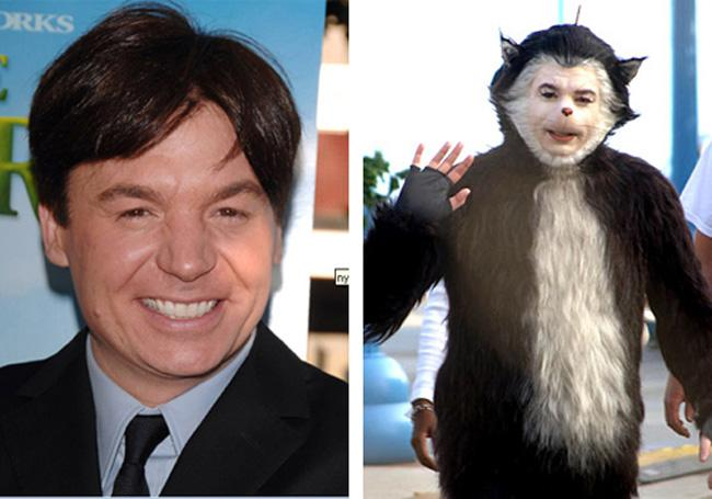 Mike Myers The Cat in the Hat Autors: dzelksnis Celebrity Movie Transformations