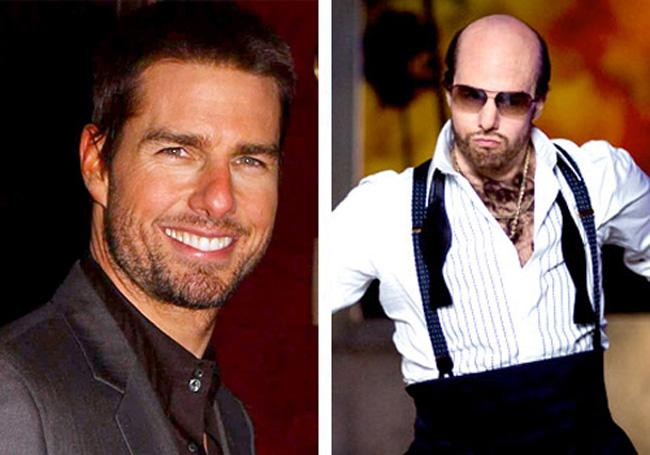 Tom Cruise Tropic Thunder Autors: dzelksnis Celebrity Movie Transformations