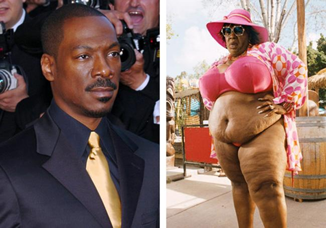 Eddie Murphy Norbit Autors: dzelksnis Celebrity Movie Transformations