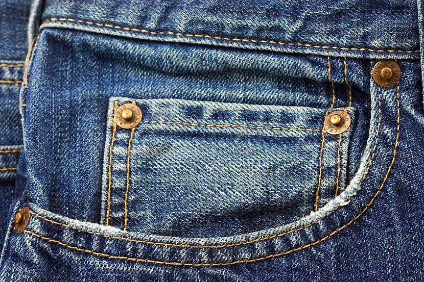 Klasiskos zilos džinsus... Autors: zirdziniece Dzinsi