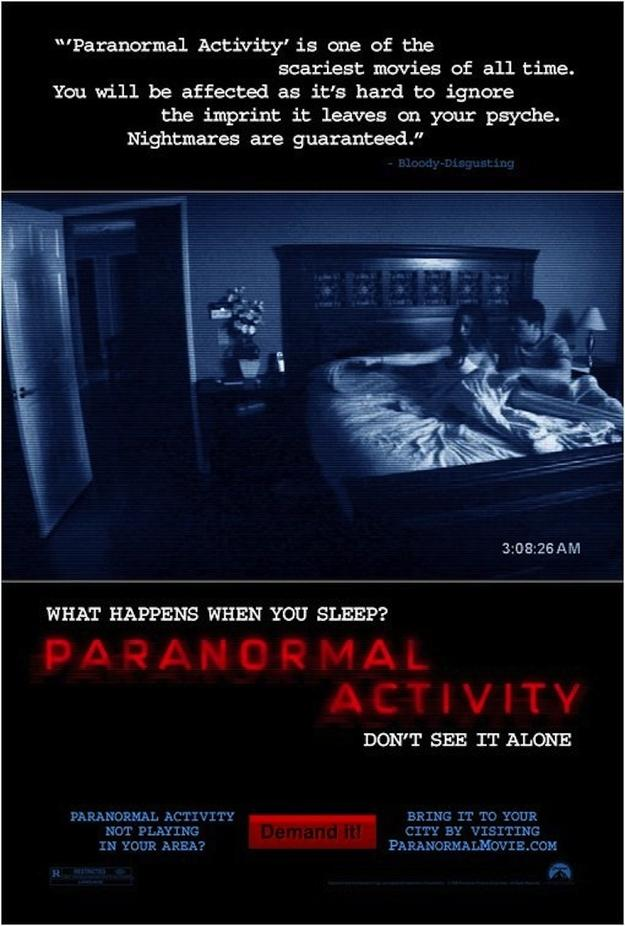 quotParanormal Activityquot... Autors: tifaanija *Interesanti Fakti par Šausmu filmām!