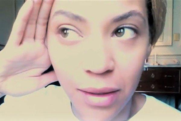 Bijonseee man viņa... Autors: kakate Slavenības bez make up.