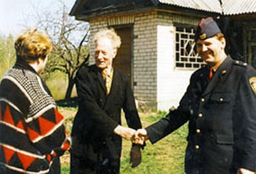 Jānis Pīnups... Autors: Meisele Latvijas Nacionālie Partizāni