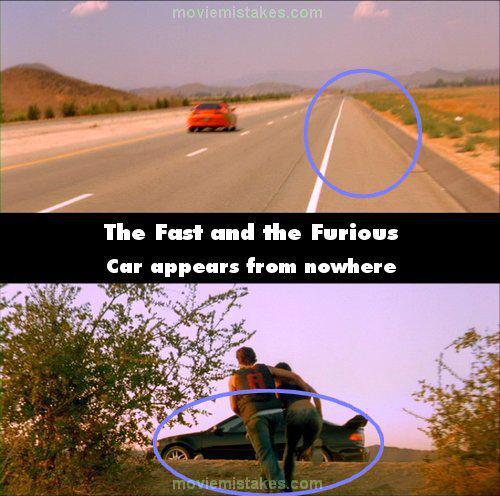 Mascaronīna uzrodas no... Autors: Senču Lācis Ātrs un Bez Žēlastības - Kļūdas (Fast & Furious)