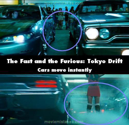 Mascaronīna labajā pusē... Autors: Senču Lācis Ātrs un Bez Žēlastības - Kļūdas (Fast & Furious)