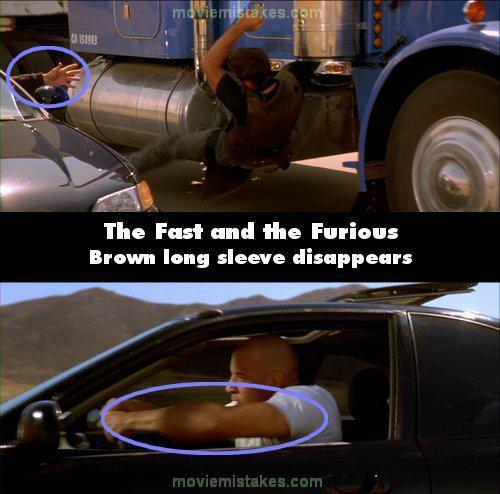 Pēkscaronņi pazūd brūnā jaka Autors: Senču Lācis Ātrs un Bez Žēlastības - Kļūdas (Fast & Furious)