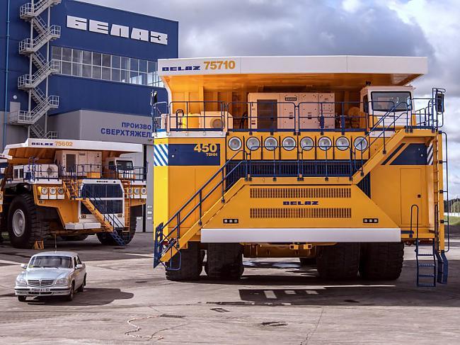 nbsp nbsp Scaronī... Autors: Mao Meow Belaz 75710 - Lielāka kravas mašīna pasaulē!
