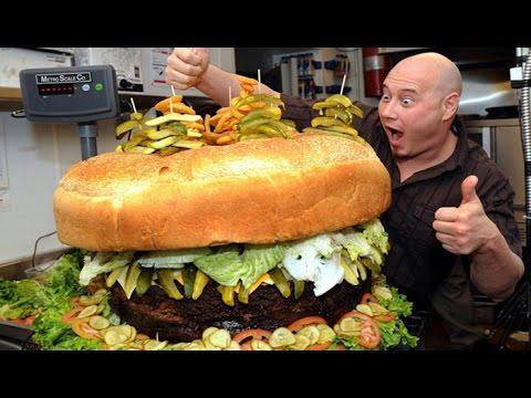 Lielākais burgeris... Autors: Āboltiņa 10 lielākās lietas pasaulē!