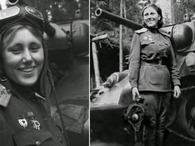 Vienīgā sieviete-tankiste vēsturē, vadījusi bataljonu Otrā Pasaules Kara laikā