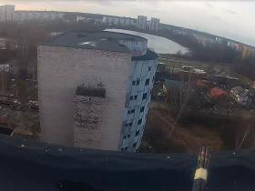 Climbing: Unfinished Maternity Hospital In Riga