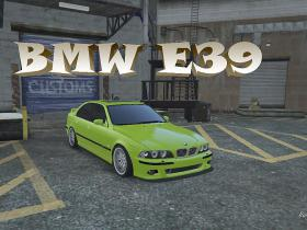 GTA V Mods - BMW e39 525