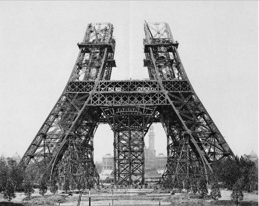 Eifeļa tornis 1888g Uzbūvēts... Autors: Lestets Pasaules ikoniskās būves pirms to pabeigšanas
