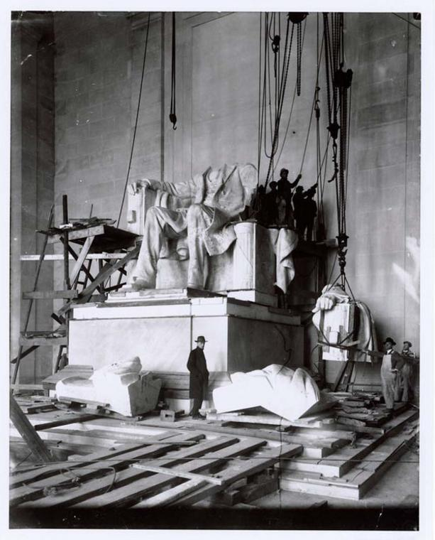 Linkolna memoriāls 1920g... Autors: Lestets Pasaules ikoniskās būves pirms to pabeigšanas