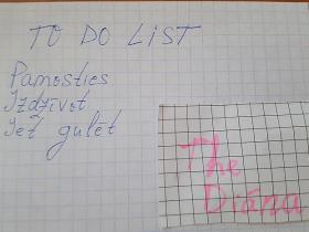 FS To do list rītdienai