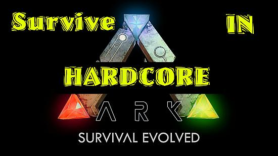 ARK: Survival Evolved Official PvP Hardcore (ep. 1) LV