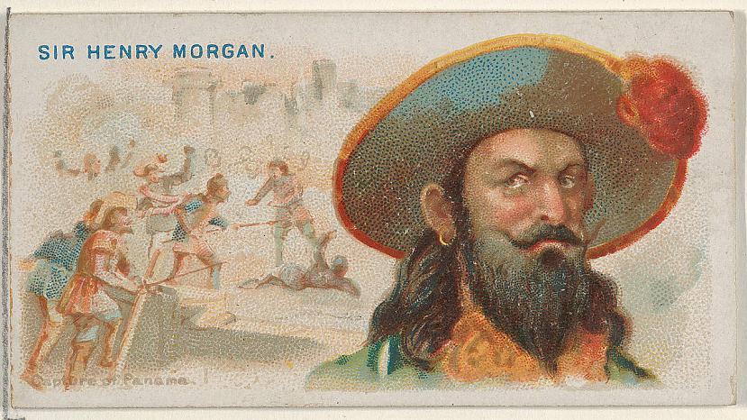 Morgans bagātību dēļ Panamai... Autors: Frida Kahlo Īstais Kapteinis Morgans