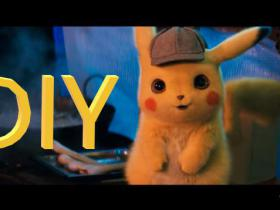 POKÉMON Detective Pikachu CREATIVE DIY IDEAS by Devlin Fox