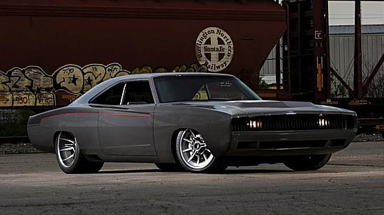 "1968 Dodge Charger Twin Turbo V10 Viper Powered ""Sliced"" ar 1300 ZS tapšana"