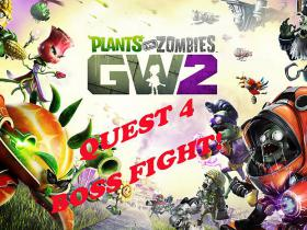 Plants vs Zombies GW2 //Zombie quest 4