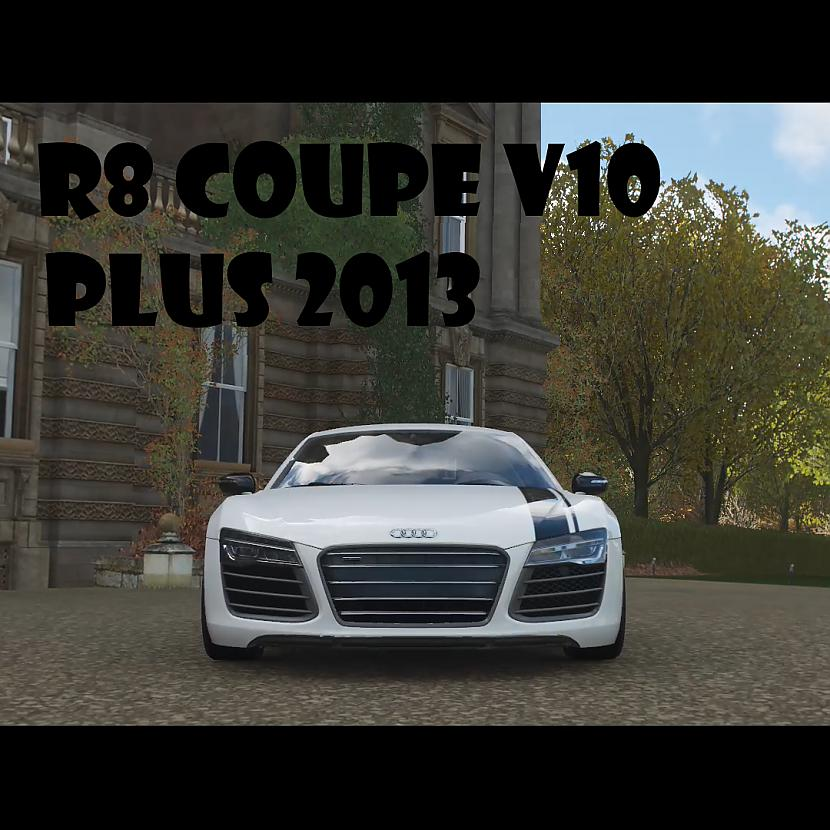 Autors: SmiekluDeva Forza Horizon 4: Audi R8 Coupe V10 Plus 2013