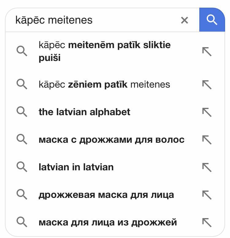15 «atslēgvārdi», kas atklāj latviešu slēptākos jautājumus