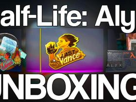 Half-Life Alyx Unboxing (Stickers, Pins, Patches)