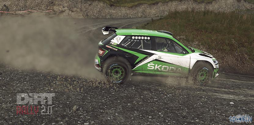Dirt 2.0 skoda- thrust master wheel